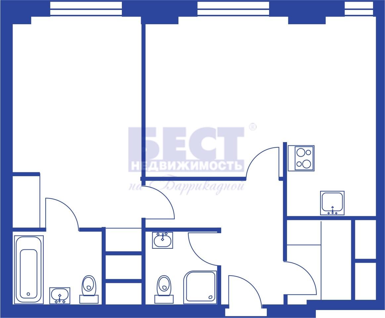 Квартира на продажу по адресу Россия, Московская область, Москва, Калибровская улица, 31с4