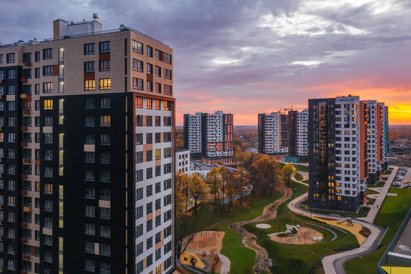 новостройки москвы фото домов все дело том