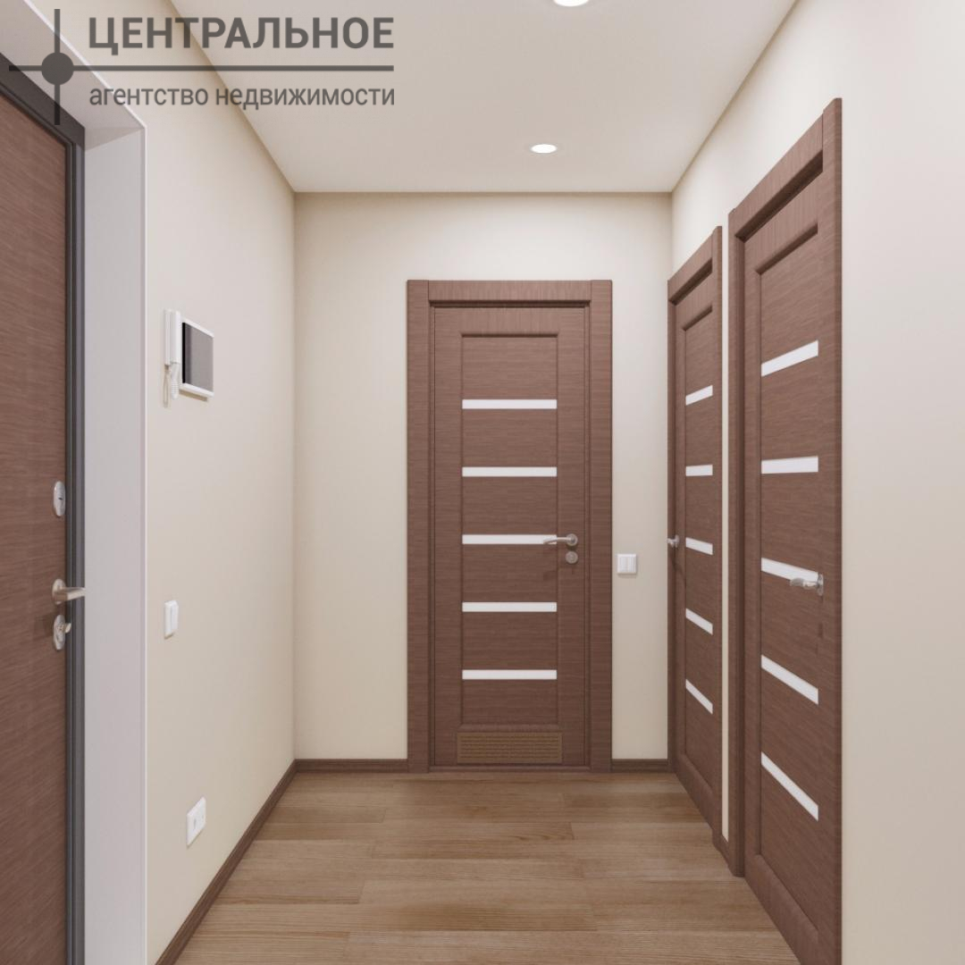2-комнатная квартира, 43 кв.м., 1/3 этаж