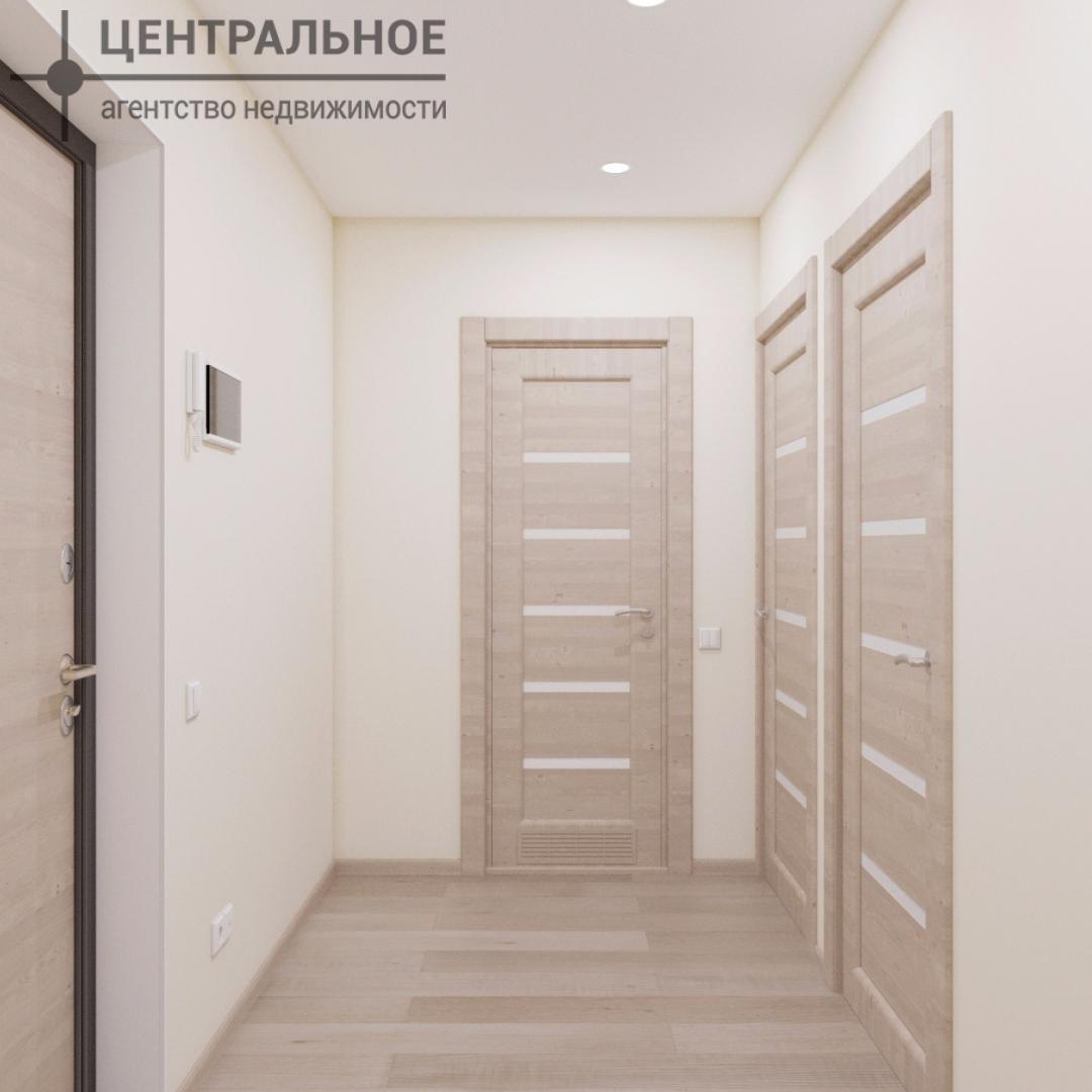 1-комнатная квартира, 35.89 кв.м., 2/3 этаж