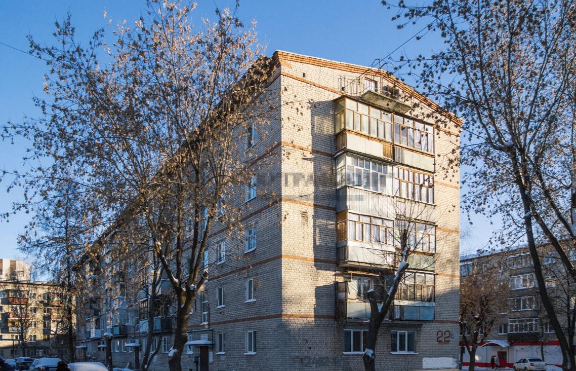Продажа 2-к квартиры космонавтов, 22