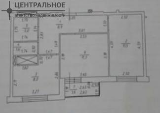 2-комнатная квартира, 47 кв.м., 7/12 этаж